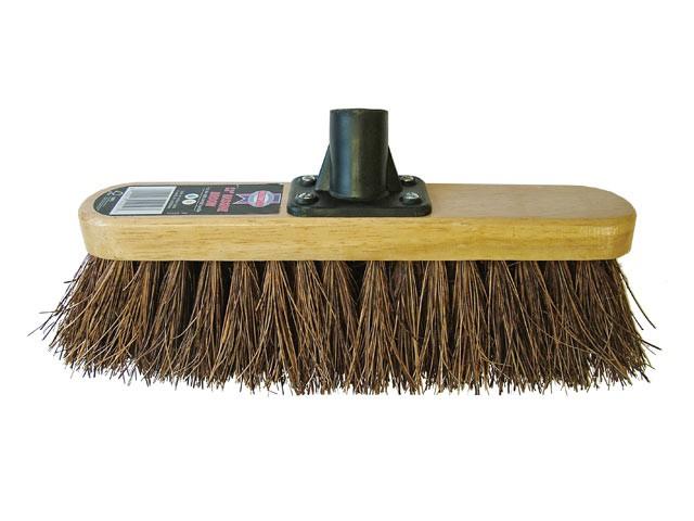 Broom Head Bassine Varnished 300mm (12in) Threaded Socket