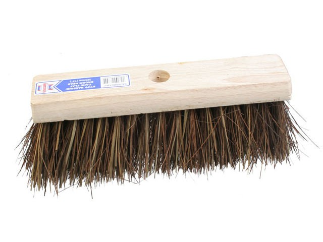 Flat Broom Stiff Bassine / Cane 325mm (13in)