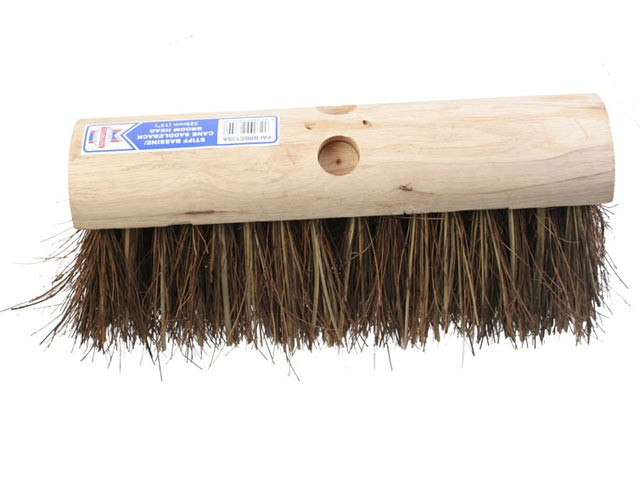 Saddleback Broom Stiff Bassine / Cane 325mm (13 in)