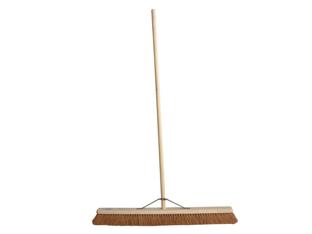 Broom Soft Coco 90cm (36in) + Handle & Stay