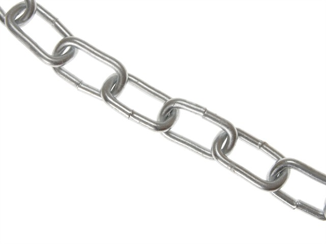 Zinc Plated Chain 8mm x 10m Box - Max Load 450kg