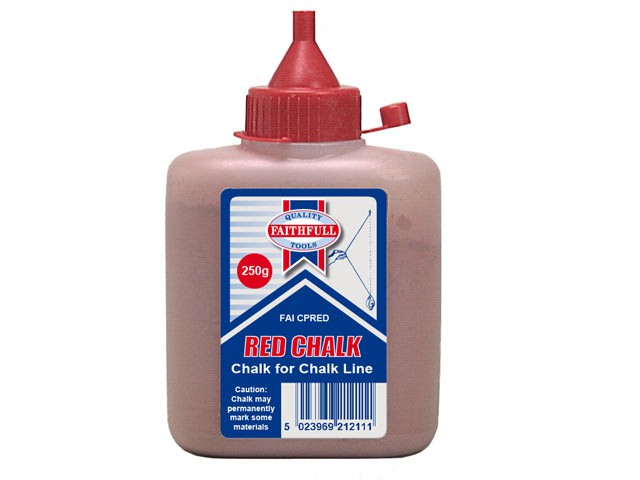 Chalk Powder 250g - Red