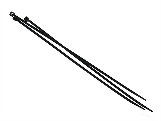 Cable Ties Black 4.8 x 250mm (Pack 100)