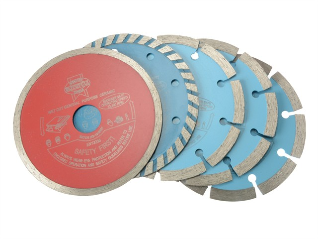 Diamond Blade Assorted Set of 5 115 x 22.2mm