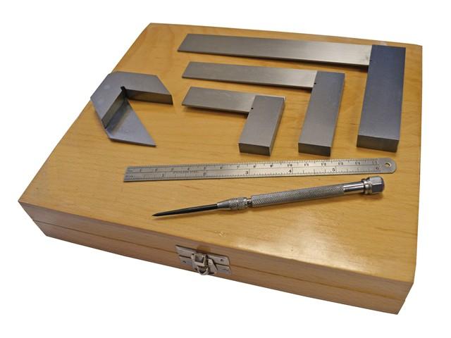 Engineers Marking & Measuring Set 6 Piece