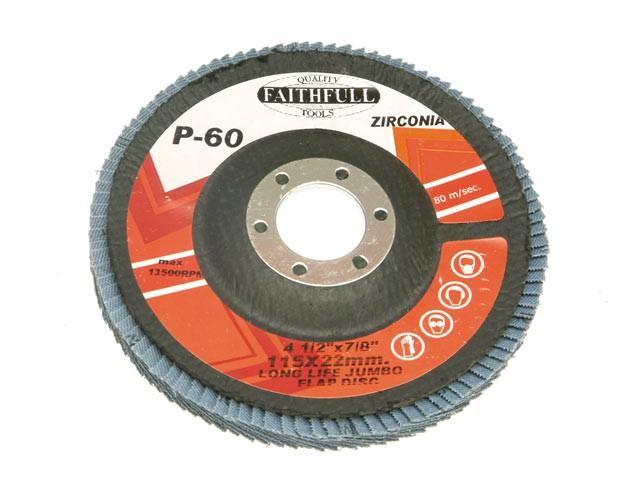 Flap Disc 115mm Medium