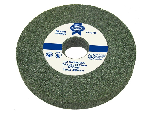 General Purpose Grinding Wheel 150 x 16mm Green Grit