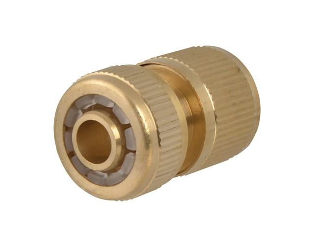 Brass Female Water Stop Connector 12.5mm (1/2in)