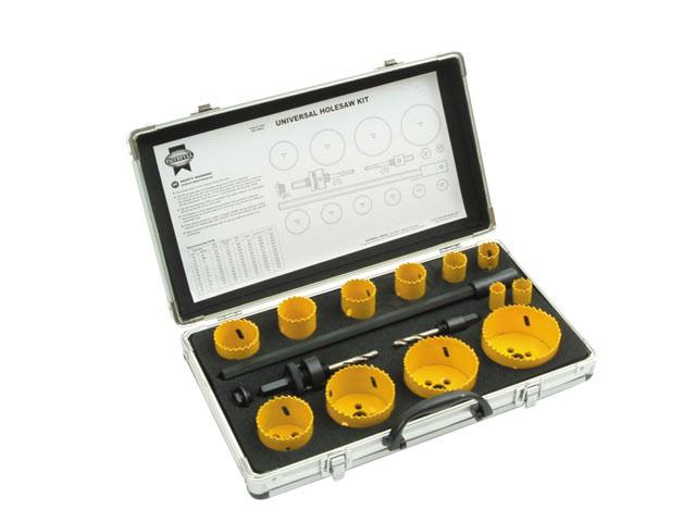 Universal Varipitch Holesaw Kit 16 Piece 16-76mm