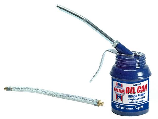 Pistol Type Oil Can 125ml
