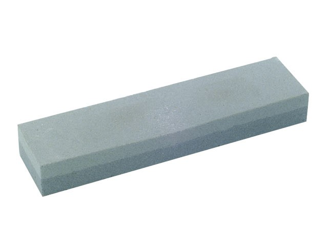 Combination Oilstone Aluminium Oxide 200 x 50 x 25mm