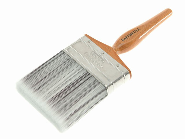 Superflow Synthetic Paint Brush 100mm (4in)