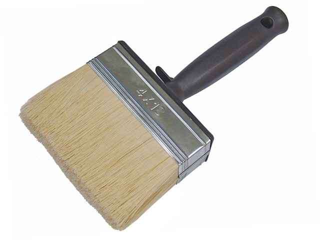 Woodcare Shed & Fence Brush 120mm (4.3/4in)