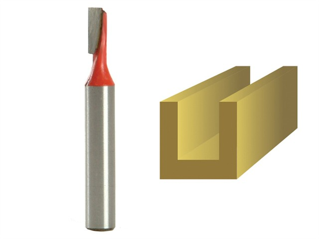 Router Bit TCT Two Flute 4.0mm x 11mm 1/4in Shank