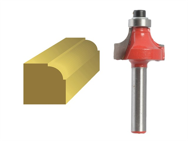 Router Bit TCT Ovolo 13.3mm 1/4in Shank