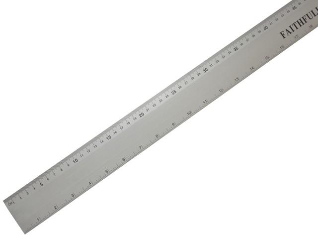 Aluminium Rule 1 Metre / 39in