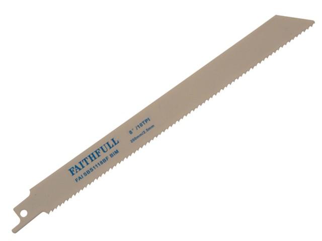 Bi-Metal Sabre Saw Blade S1118BF (Pack of 5)