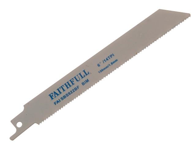 Bi-Metal Sabre Saw Blade Metal S922BF (Pack of 5)