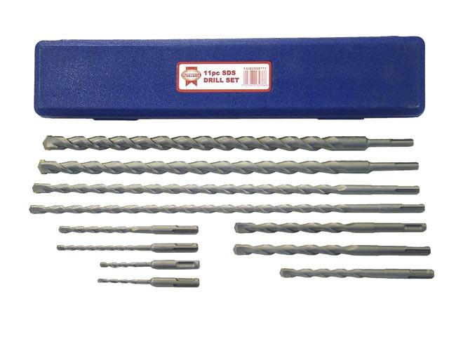 SDS Plus Drill Bit Set 11 Piece 5-20mm