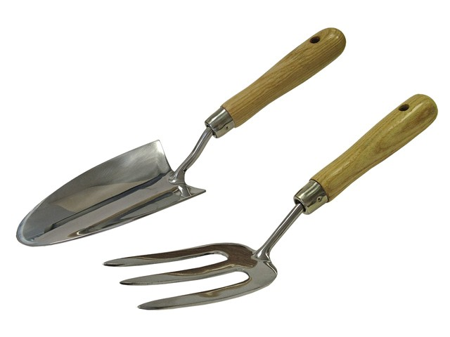 Stainless Steel Hand Tool Set of 2 in Cardboard Box
