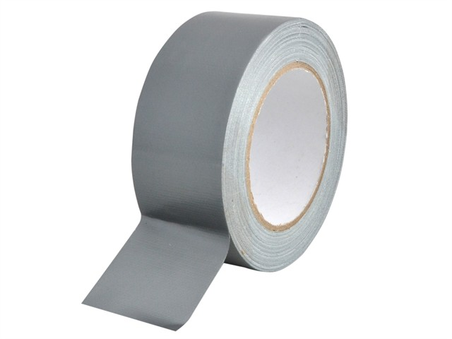 Heavy-Duty Gaffa Tape 50mm x 25m Silver