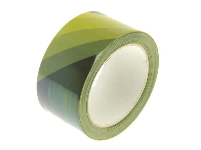 Hazard Warning Safety Tape 50mm x 33m Black & Yellow