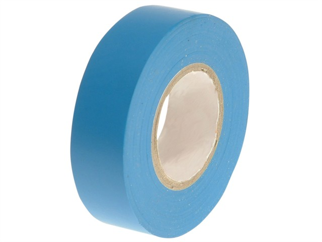 PVC Electrical Tape Blue 19mm x 20m