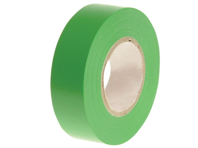 PVC Electrical Tape Green 19mm x 20m