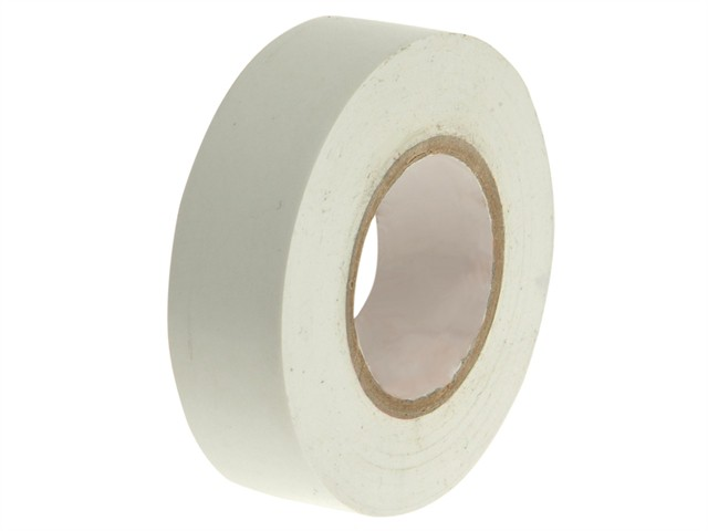 PVC Electrical Tape White 19mm x 20m