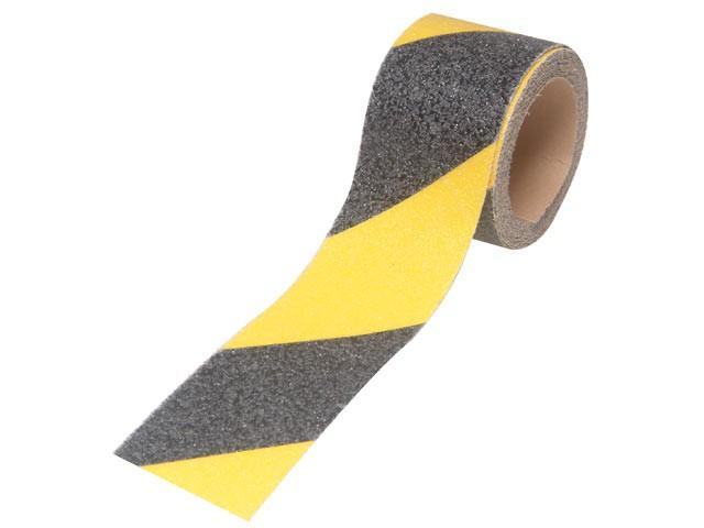 Anti-Slip Tape Self Adhesive 50mm x 3m Black / Yellow