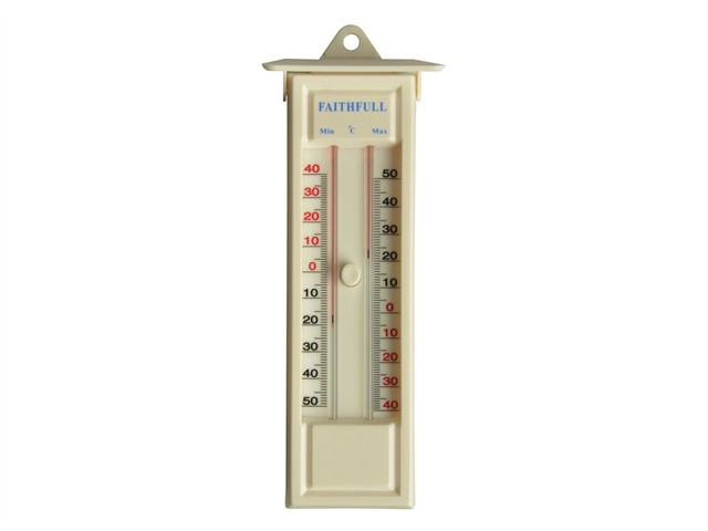 Thermometer Press Button Max-Min