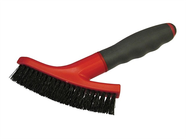 Grout Scrubbing Brush Soft-Grip Handle