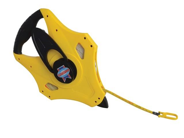 Geared Fibreglass Tape 50m/165ft (Width 15mm)