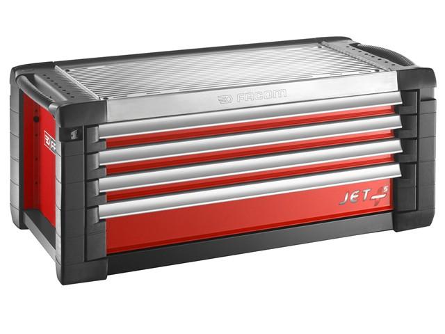 Jet.C4M5 Roller Cabinet 4 Drawer Red