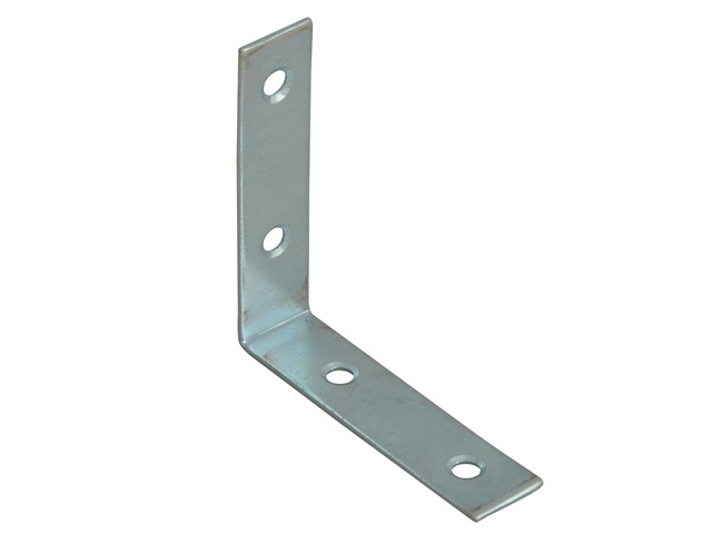 Corner Braces Zinc Plated 50mm Pack of 10