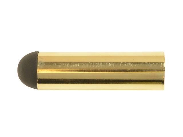 Projecting Door Stop Brass Finish 62mm