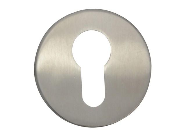 Escutcheon Stainless Steel Euro Profile
