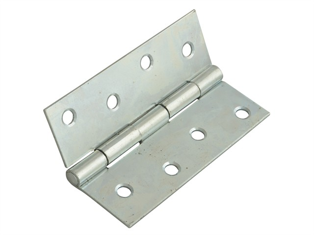 Butt Hinge Steel Zinc Plated 100mm (4in) Pack of 2