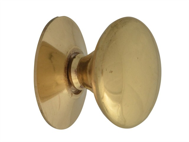 Cupboard Knobs - Victorian Brass Finish 25mm Pack of 5