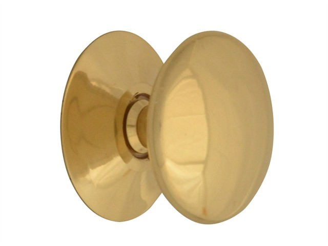 Cupboard Knobs - Victorian Brass Finish 30mm Pack of 5