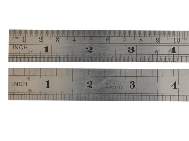 F106ME Steel Rule 150mm / 6in