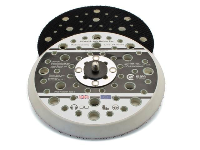 Dual Action Sander Pad 150mm GRIP® 5/16 UNF