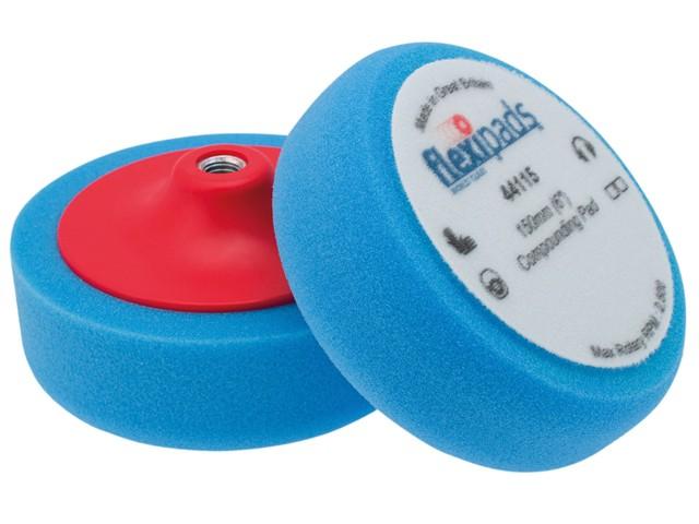 Blue Compounding / Polishing Foam 150 x 50mm GRIP®