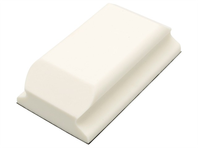 Hand Sanding Block Shaped White PUR GRIP® 70 x 125mm