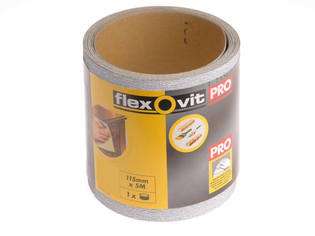 High Performance Sanding Roll 115mm x 10m Extra Coarse 40g
