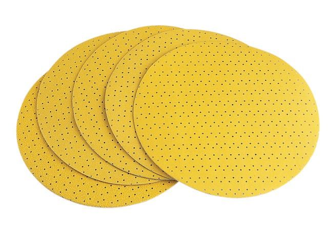 Hook & Loop Sanding Paper Perforated 100 Grit Pack 25