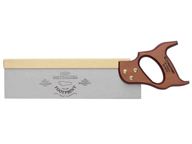 256 Brass Back Tenon Saw 250mm (10in) 15tpi