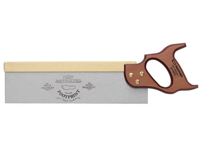 256 Brass Back Tenon Saw 300mm (12in) 13tpi