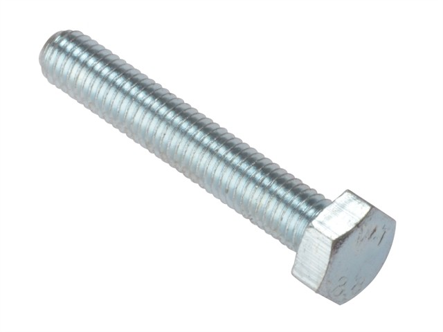 High Tensile Set Screw ZP M10 x 80mm Bag 10
