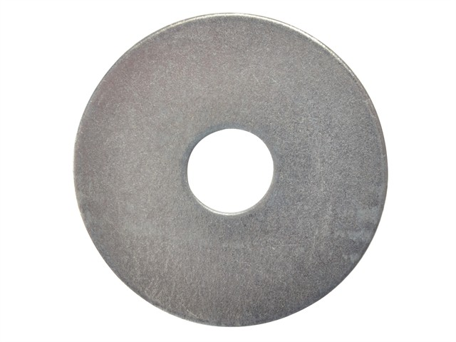 Flat Mudguard Washers ZP M10 x 50mm Bag 10
